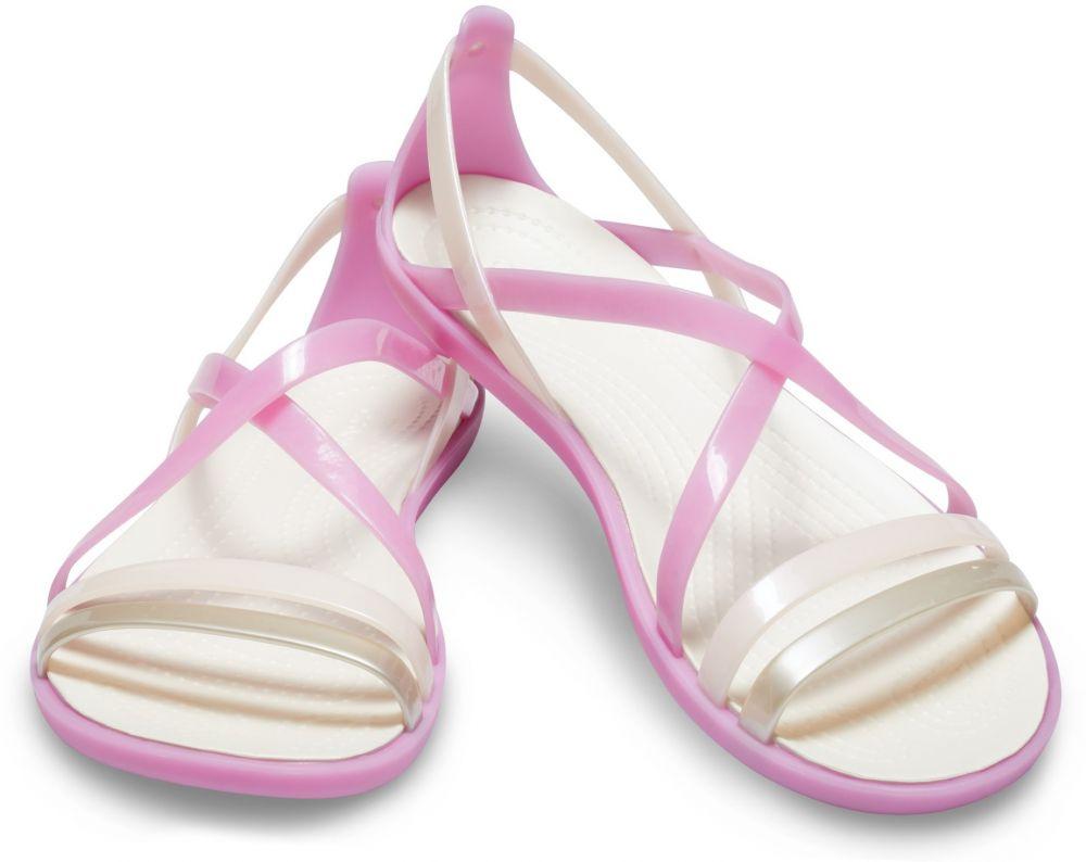 a356aa15a019 Crocs ružové sandále Isabella Strappy Sandal Violet Oyster značky ...