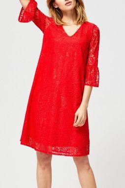 46848cbf16e4 Červené šaty s áčkovou sukňou ZOOT značky ZOOT - Lovely.sk