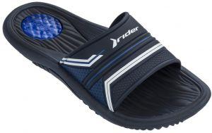 63a953a9ba Rider tmavo modré pánske šľapky Montana Viii Ad Blue Blue