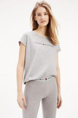 9186cf458dc7 Tommy Hilfiger sivé tričko RN Tee SS Logo