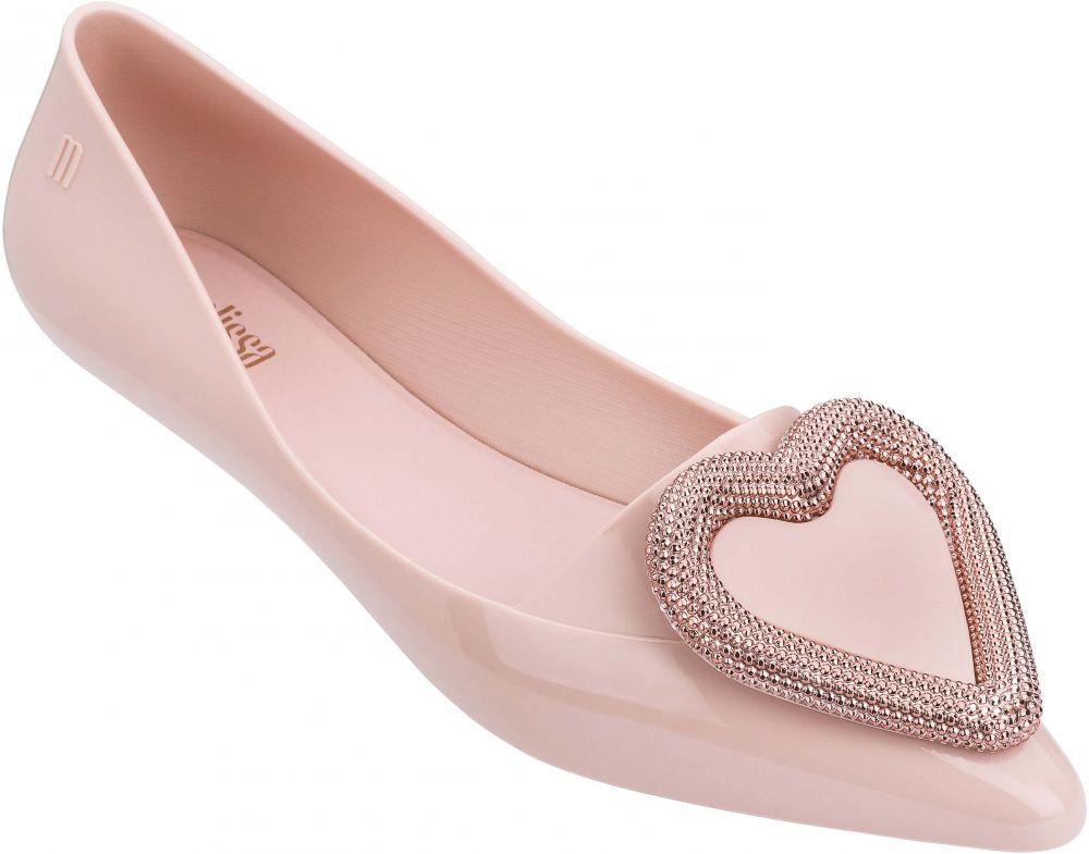 bb2e80ca1b Melissa púdrové balerínky Pointy Heart Soft Pink značky Melissa ...