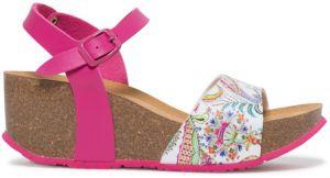 5eb5e9ab29 Desigual ružové topánky na kline Shoes Bio7 Galactic