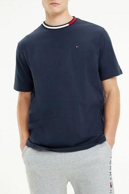 2468589adc Tommy Hilfiger tmavomodré pánske tričko CN SS Tee Logo