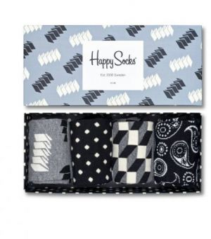 Happy Socks dámský set ponožek Combo Box Optic