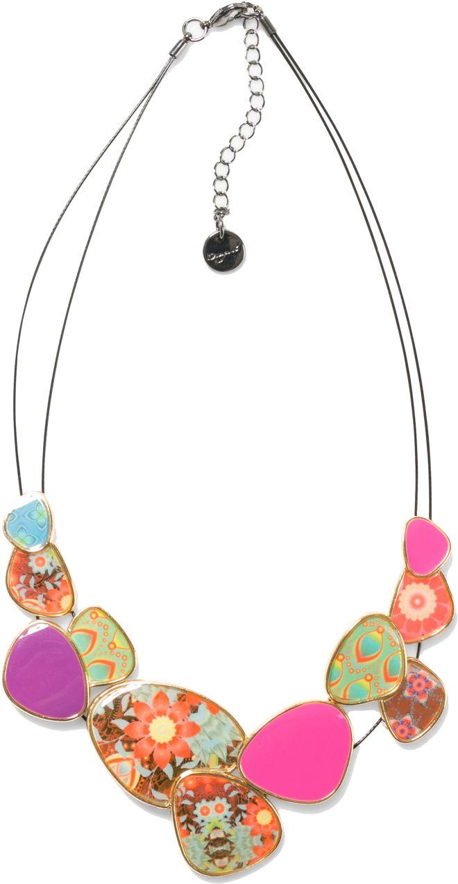 4f69a3085 Desigual farebný náhrdelník Chapas Kaitlin značky Desigual - Lovely.sk