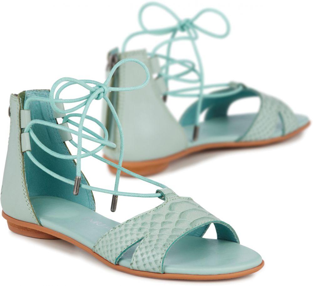 e2d637fae7a1 Emu zelené sandále Darnel Sea Green značky Emu - Lovely.sk