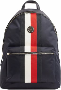 Tommy Hilfiger tmavomodrý ruksak Poppy Backpack Corp Corporate