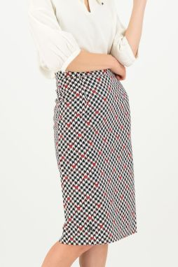 Blutsgeschwister puzdrová sukňa Sweet Seduction Skirt Classic Chic