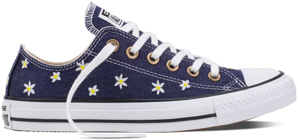 Converse modré tenisky CTAS OX Navy Fresh Yellow White značky Converse -  Lovely.sk d193312fcb