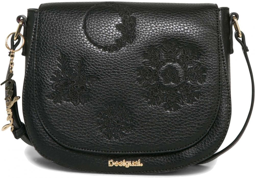 0c13052bfb Desigual multifunkčná čierno-zlatá kabelka Cracovia Alice značky Desigual -  Lovely.sk