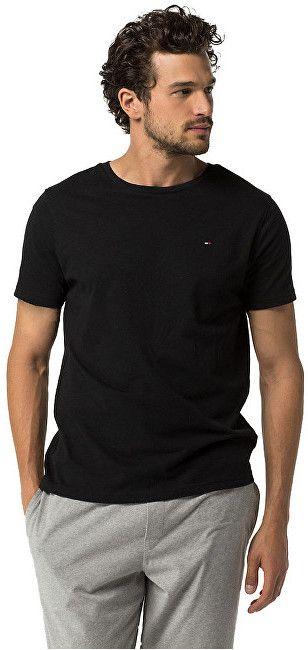 Tommy Hilfiger Pánske tričko Cotton Icon Sleepwear CN TEE SS 2S87904671-990  Black M značky Tommy Hilfiger - Lovely.sk 2af1f2e919f