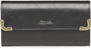 Tamaris Elegantná peňaženka Calista Big Wallet with Flap 7914172-001 Black