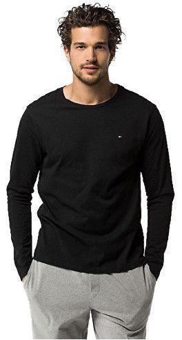 7a07669b7b Tommy Hilfiger Pánske tričko s dlhým rukávom Cotton Icon Sleepwear CN TEE  LS 2S87904672-990 Black L značky Tommy Hilfiger - Lovely.sk
