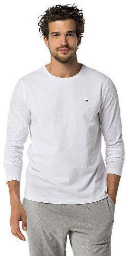 240cb05087 Tommy Hilfiger Pánske tričko s dlhým rukávom Cotton Icon Sleepwear CN TEE  LS 2S87904672-100 White XL značky Tommy Hilfiger - Lovely.sk