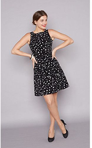 Smashed Lemon Dámske krátke šaty Black 17687 02 XS značky Smashed Lemon -  Lovely.sk 1452945daa