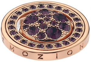 Hot Diamonds Prívesok Hot Diamonds Emozioni Alba e Tramonto Rose Gold Coin EC247-253 33 mm