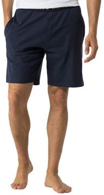 Tommy Hilfiger Pánske kraťasy Cotton Icon Sleepwear Short s 2S87904674-416 Navy Blaze r L