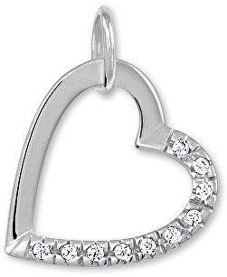3cd15e3d5 Brilio Zlatý prívesok srdce s kryštálmi 249 001 00494 07 - 0,55 g značky  Brilio - Lovely.sk