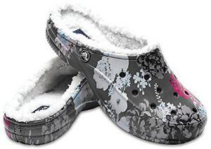 Crocs Šľapky Crocs Freesail Graphic Lined Floral/Slate Grey 203762-96B 36-37