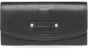 Tamaris Elegantná peňaženka Tara Big Wallet with Flap 7923172-001 Black