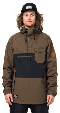 Horsefeathers Pánska bunda Recruit Brown SM902A M