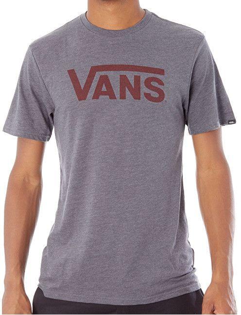f0979a69e VANS Pánske tričko Vans Classic Heather Asphalt V000UMO8W S značky Vans -  Lovely.sk