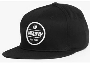 Meatfly Kšilt ovka Troop Snapback B - Black