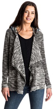 Roxy Sveter Cross Step Cardigan Charcoal Heather ERJFT03479-KPGH M
