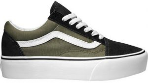 VANS Tenisky Old Skool Platform Grape Leaf / True White VA3B3U0FI 38