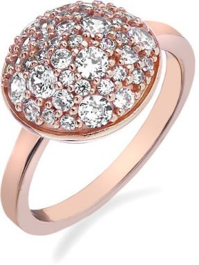 Hot Diamonds Prsteň Emozioni Laghetto Bouquet Rose Gold ER012 52 mm