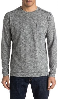 Quiksilver tričko Lind ow Crew Dark Grey Heather EQYSW03142-KTFH XL
