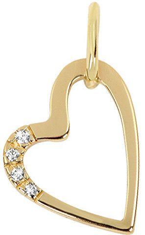 aa3912c75 Brilio Zlatý prívesok srdce s kryštálmi 249 001 00429 - 0,75 g značky Brilio  - Lovely.sk