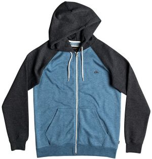 Quiksilver Mikina Everyday Zip Indian Teal Heather EQYFT03429-BQKH XL