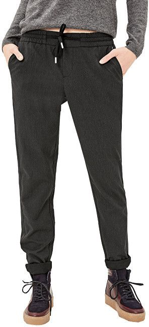 43f4a4c70 Oliver Dámske nohavice dĺžka 34 14.710.73.2154.99G0.34 Dark Grey 36 značky s .Oliver - Lovely.sk