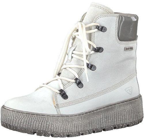d22e41844a Tamaris Elegantné dámske členkové topánky 1-1-26730-39-197 White Comb 37  značky Tamaris - Lovely.sk