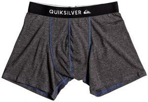 Quiksilver Boxerky Boxer Edition Dark Charcoal Heathe EQYLW03022-KYFH M