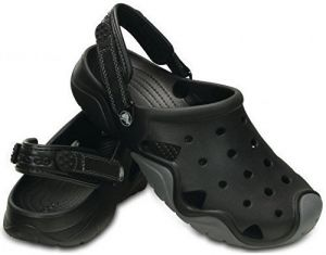 Crocs Šľapky Swiftwater Clog Black/Charcoal 202251 45-46