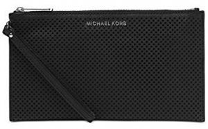 Michael Kors Elegantné puzdro Jet Set Travel Large Zip Clutch Black