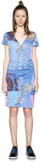 c517c60a1dd1 Desigual Dámske šaty Vest All Of Me 18SWVKBH 5202 XS značky Desigual ...