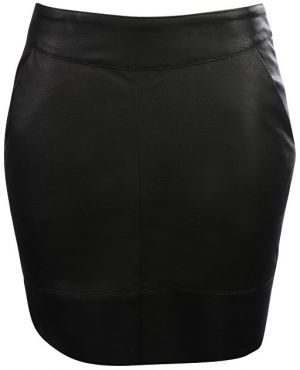 ONLY Dámska sukňa Base Lg Faux Leater Skirt Otw Black 38