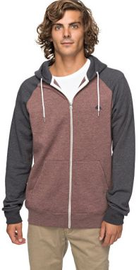 Quiksilver Mikina Everyday Zip Marron Heather EQYFT03429-CQDH S