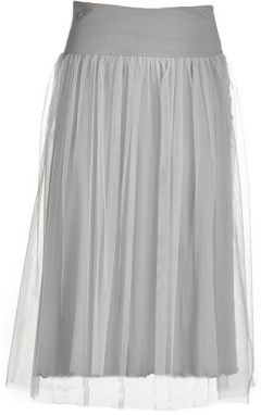 Deha Dámska sukňa Side Knotted Skirt B74055 Pearl Gray S