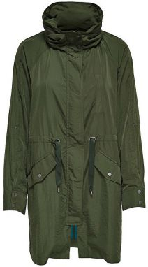 ONLY Dámska bunda Thunder Long Oversized Shell Coat Otw Rifle Green XS