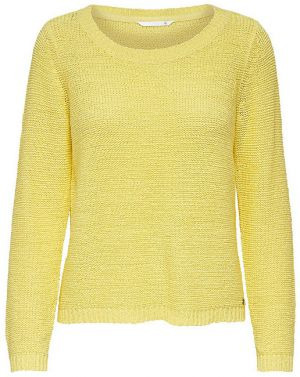 ONLY Dámsky sveter Geena Xo L / S Pullover KNT Noosa Yellow Pear XS