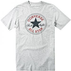 Converse Pánske tričko Core Chuck Patch Tee Vintage Grey Heather S