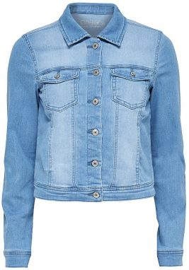 ONLY Dámska bunda New Westa Detail Jacket Light Blue Denim 34
