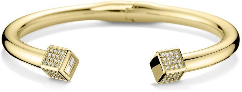 1423e8a69 Tommy Hilfiger Pevný zlatý náramok s kryštálmi TH2700741 značky Tommy  Hilfiger - Lovely.sk