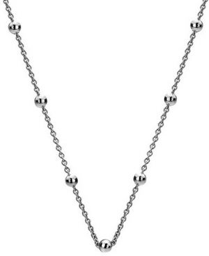 Hot Diamonds Strieborná retiazka Emozioni Silver Cable with Ball Chain CH001