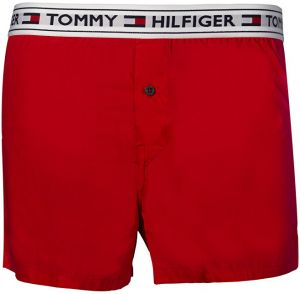 Tommy Hilfiger Boxerky Woven Boxer Tango Red UM0UM00517-611 M