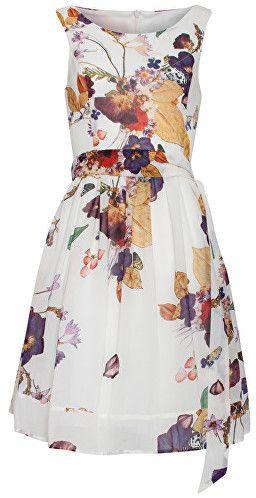 cbf99c8449de Smashed Lemon Dámske krátke šaty White 18392 01 M značky Smashed Lemon -  Lovely.sk